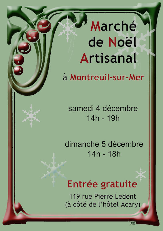 Christmas Craft Market - Montreuil