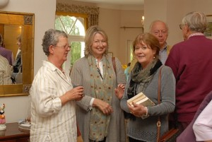 Red Cross coffee morning guests
