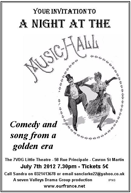 Old Time Music Hall Cavron